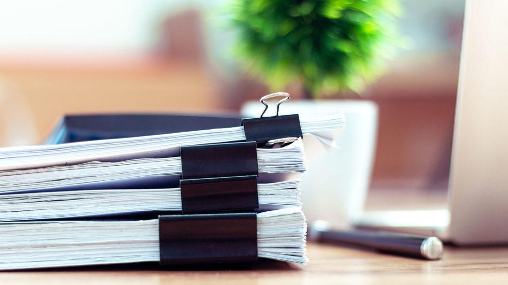 Unterlagen und Formulare zur Baufinanzierung
